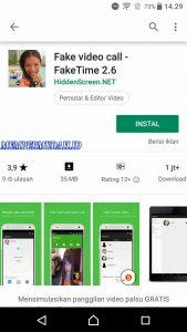 Cara Membuat Video Call Palsu di WhatsApp HP Android 1