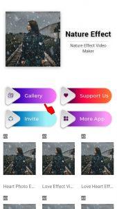 Cara Membuat Video Efek Air Hujan di Kamera HP Android 3