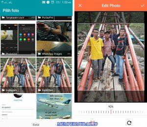 Cara Membuat Video Efek Air Hujan di Kamera HP Android 4