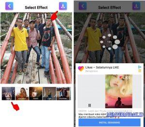 Cara Membuat Video Efek Air Hujan di Kamera HP Android 5