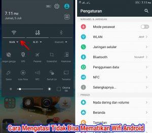 Cara Mengatasi Tidak Bisa Mematikan Koneksi Wifi di HP Android