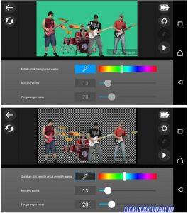 Cara Merekam Video Dengan Kamera Green Screen HP Android 7