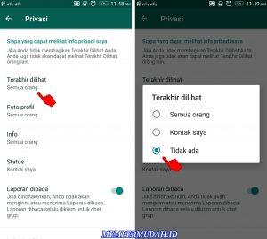 Cara Agar Last Seen Whatsapp Tidak Berubah 5