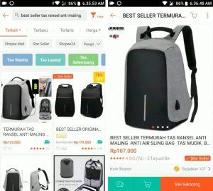 Cara Membeli dan Membayar Barang di Shopee via HP Android 2