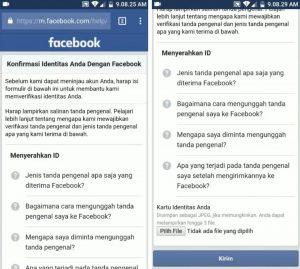 Cara Mengatasi Konfirmasi Identitas di Akun Facebook 4