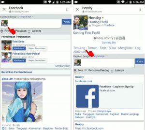 Cara Mengubah Tanggal Lahir via Facebook Lite Android 4