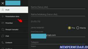 Cara Deposit Binomo Dengan Internet Banking di Android 2