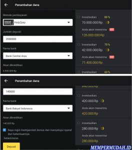 Cara Deposit Binomo Dengan Internet Banking di Android 3