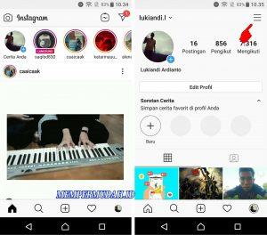 Cara Lihat Nama Akun Instagram Kita Yang Sudah Lama 2
