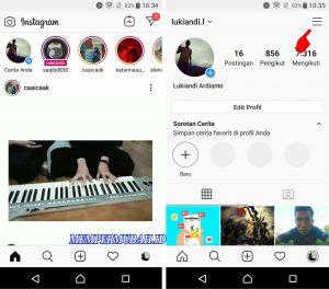 Cara Melihat Nomor Telepon Lama di Akun Instagram Milik Kita 2