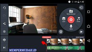Cara Mengatasi Suara Menurun di Akhir Video Kine Master Android 1