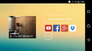 Cara Mengatasi Suara Menurun di Akhir Video Kine Master Android 5