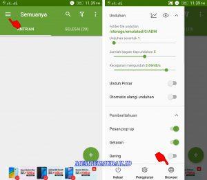 Cara Mengatasi Unduhan di Antrekan Pada Chrome HP Android 3