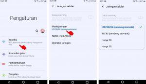 Cara Mengunci Jaringan 4G di HP Android Samsung A10 5