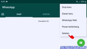 Cara Mengunci Whatsapp di HP Android Samsung Galaxy 3