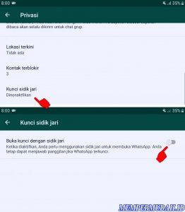 Cara Mengunci Whatsapp di HP Android Samsung Galaxy 5
