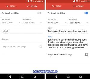 Trik Balas Pesan Masuk Secara Otomatis di Gmail HP Android 4
