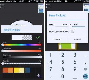 Cara Buat Tema Facebook Lite Tembus Pandang di Android 2