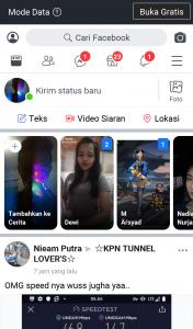 Cara Buka Facebook Melalui Aplikasi Instagram di Android 5
