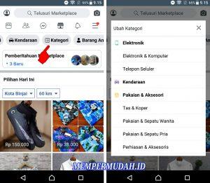 Cara Buka Marketplace di Aplikasi Facebook Lite Android 5
