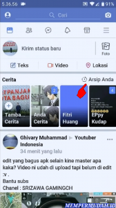 Cara Lihat Foto Facebook Stories Kita Sebelumnya (Lama) 2