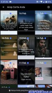 Cara Lihat Foto Facebook Stories Kita Sebelumnya (Lama) 3