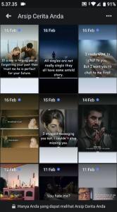 Cara Lihat Foto Facebook Stories Kita Sebelumnya (Lama) 6