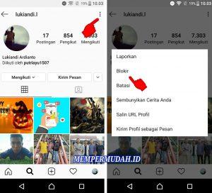 Cara Menyembunyikan FotoVideo Instagram Dari Orang Tertentu 4