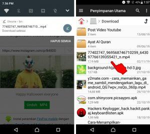 Cara Unduh Video Instagram Jadi File Musik di HP Android 5