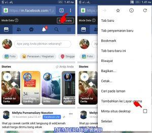 Cara Upload Foto 3D Terlihat Bergerak di Facebook HP Android 11