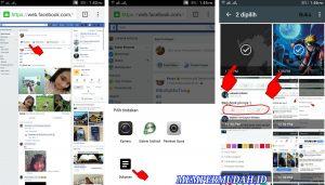 Cara Upload Foto 3D Terlihat Bergerak di Facebook HP Android 12