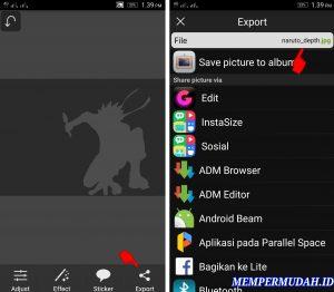 Cara Upload Foto 3D Terlihat Bergerak di Facebook HP Android 9