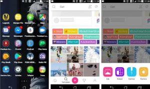 Cara Buat Gambar Logo Nama Keren Efek Asap di HP Android 1