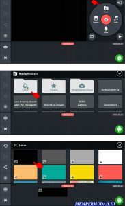 Cara Buat Output Video Grid Overlay Youtube via HP Android 2