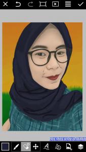 Cara Buat Vektor atau Karikatur Dengan Foto Sendiri di Android 13