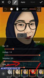 Cara Buat Vektor atau Karikatur Dengan Foto Sendiri di Android 14