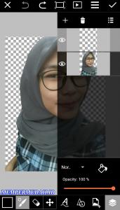 Cara Buat Vektor atau Karikatur Dengan Foto Sendiri di Android 3