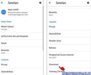Cara Download File Dari Browser Chrome Langsung ke Kartu Memori 3