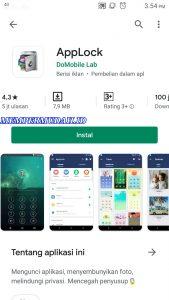 Cara Kunci Game di Android Dengan Password PolaPIN 1