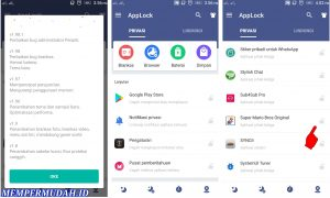 Cara Kunci Game di Android Dengan Password PolaPIN 3