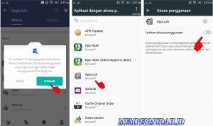 Cara Kunci Game di Android Dengan Password PolaPIN 4