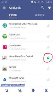 Cara Kunci Game di Android Dengan Password PolaPIN 5