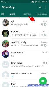 Cara Memblokir Semua Status Cerita Teman di Whatsapp 2