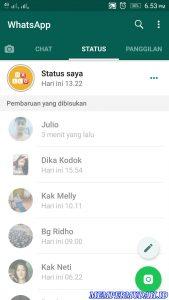 Cara Memblokir Semua Status Cerita Teman di Whatsapp 5