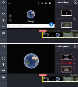 Cara Membuat Video Zoom Earth Maps di HP Android 10