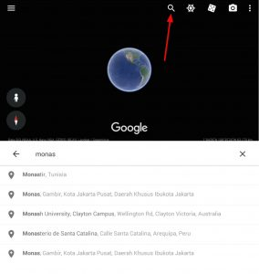Cara Membuat Video Zoom Earth Maps di HP Android 5