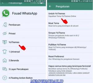 Cara Mengganti Warna Hijau di Tampilan Whatsapp Android 3