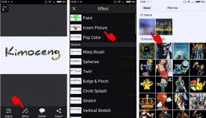 Cara Mudah Edit Foto Efek Menulis di Kaca Berembun HP Android 10
