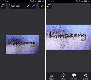 Cara Mudah Edit Foto Efek Menulis di Kaca Berembun HP Android 12a