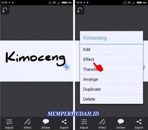 Cara Mudah Edit Foto Efek Menulis di Kaca Berembun HP Android 4